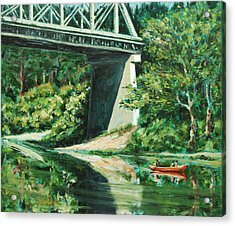 Russian River Acrylic Print