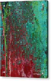 Rust Abstract Acrylic Print by Carol Groenen