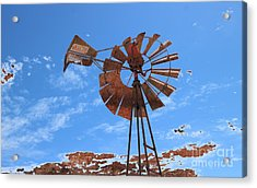 Acrylic Print featuring the photograph Rust Age by Stephen Mitchell