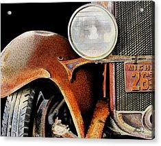 Rust Never Sleeps Acrylic Print by Ferrel Cordle