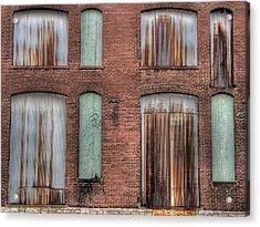 Rust Never Sleeps Acrylic Print by Jane Linders