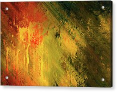 Rust Of Life Abstract Wall Art Acrylic Print