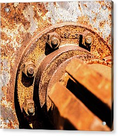 Acrylic Print featuring the photograph Rust by Onyonet  Photo Studios