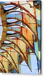 Rust Pavilion World's Fair 1964 Ny Acrylic Print