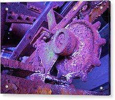 Rust Sleeping Acrylic Print by Don Struke