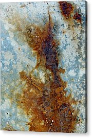 Rusted Abstraction 2 Acrylic Print