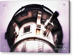Rusted Beacon Acrylic Print by Mark David Zahn
