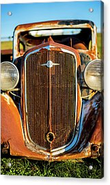 Rusted Chevrolet Acrylic Print