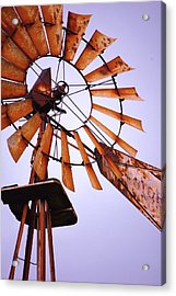 Rusted In The Past Acrylic Print by Jame Hayes