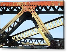 Rusted Acrylic Print by Martin Cline