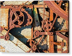 Rusted Reaction Acrylic Print