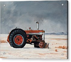 Rusted Sentinel Acrylic Print by Greg Clibon