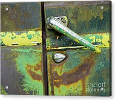 Rusted Series 4 Acrylic Print by Laura Atkinson