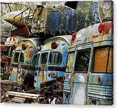 Rusted Series Acrylic Print by Laura Atkinson
