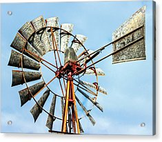 S And L Windmill Acrylic Print