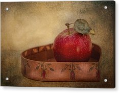 Rustic Apple Acrylic Print