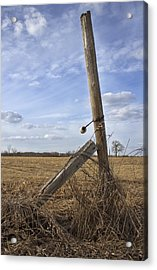 Rustic Charm Acrylic Print by Inspired Arts