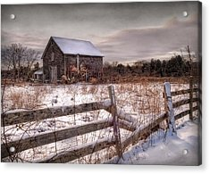 Rustic Chill Acrylic Print by Robin-Lee Vieira