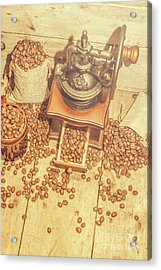 Rustic Country Coffee House Still Acrylic Print