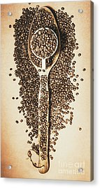 Rustic Drinks Artwork Acrylic Print