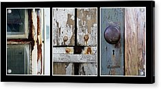 Rustic Elements Acrylic Print