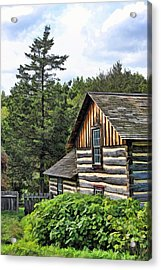 Rustic Farmhouse At Old World Wisconsin Acrylic Print