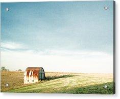 Rustic Fields Acrylic Print