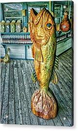 Rustic Fish Acrylic Print