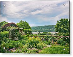 Rustic Garden Acrylic Print by Jessica Jenney