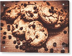 Rustic Kitchen Cookie Art Acrylic Print by Jorgo Photography - Wall Art Gallery