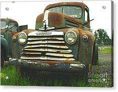Rustic Mercury Acrylic Print by Randy Harris