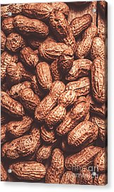 Rustic Nuts Background  Acrylic Print by Jorgo Photography - Wall Art Gallery