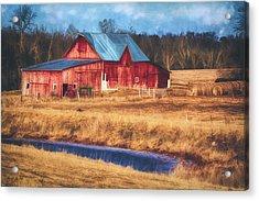Rustic Red Barn Acrylic Print