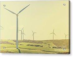 Rustic Renewables Acrylic Print