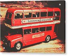 Rustic Routemaster Acrylic Print