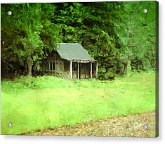 Rustic Shed Acrylic Print