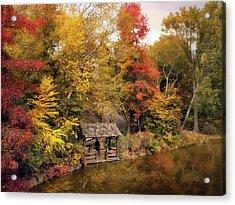 Rustic Splendor Acrylic Print by Jessica Jenney