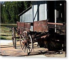 Rustic Wagon Acrylic Print