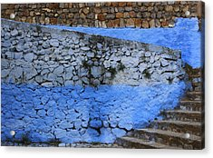 Acrylic Print featuring the photograph Rustic Wall by Ramona Johnston