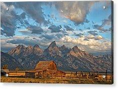 Rustic Wyoming Acrylic Print by Darren White