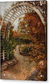 Rusting Garden Acrylic Print