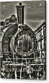 Rusting Locomotive Acrylic Print