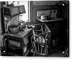 Rusting Pots And Pans, Bodie Ghost Town Acrylic Print
