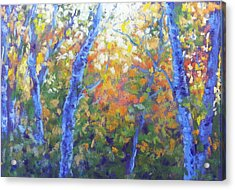 Rustlers Gulch Afternoon Acrylic Print by Becky Chappell
