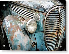 Rusty Blues Acrylic Print