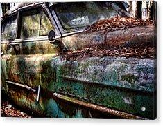 Rusty Cadillac Acrylic Print
