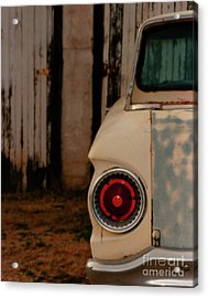 Rusty Car Acrylic Print