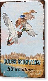 Rusty Duck Calling-jp2819 Acrylic Print