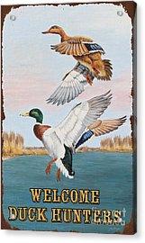 Rusty Duck Hunters-jp2817 Acrylic Print