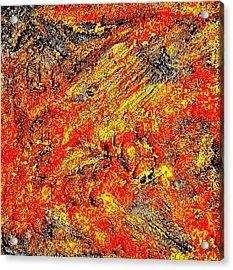 Rusty Euphoria Acrylic Print
